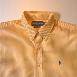Ralph Lauren large button down dress shirt